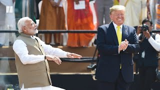 India Welcomes Trump