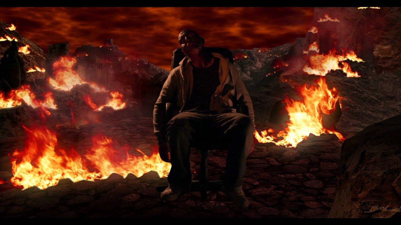 Paint Falling Wallpaper Burn In Hell Fx Matte Painting Anim 233 Youtube