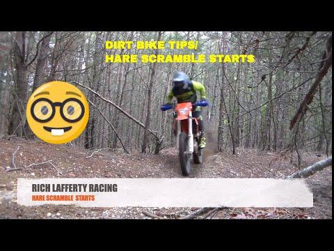 Dirt Bike Tip/Hare Scramble Starts