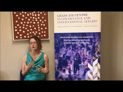 Shannon Zimmerman - PhD student in the UQ School of Political Science and International Studies