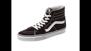 VANS Sk8-Hi Unisex Casual High-Top Skate Shoes, Comfortable, Durable in Signature Waffle Rubber Sole