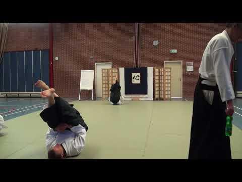 Aikido Yuishinkai Alkmaar training 21-04-2018