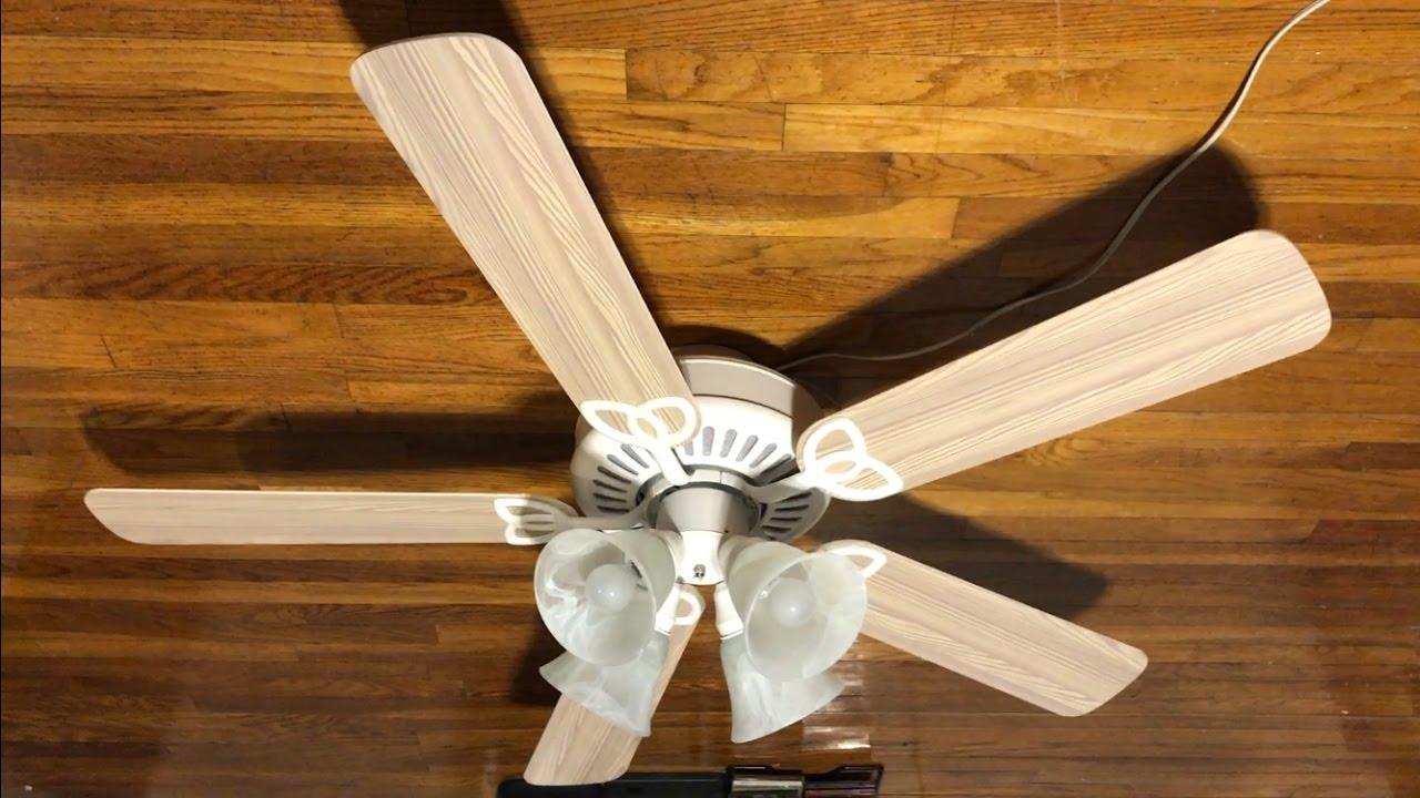 """Harbor Breeze Springfield Ceiling Fan 52"""" (Whitewash ..."""