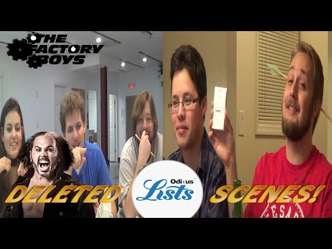 Odious Lists Deleted Scenes (Factory Boys Live Special)