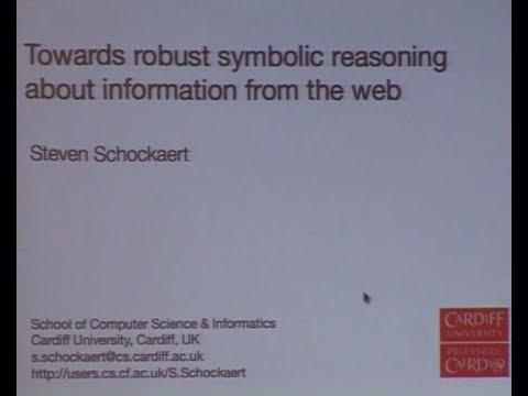 Agi 13 Steven Schockaert Towards Robust Symbolic Reasoning About