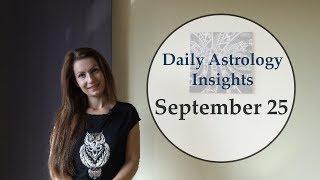 Video Daily Astrology Horoscope: September 25   Sun square Saturn download MP3, 3GP, MP4, WEBM, AVI, FLV September 2018
