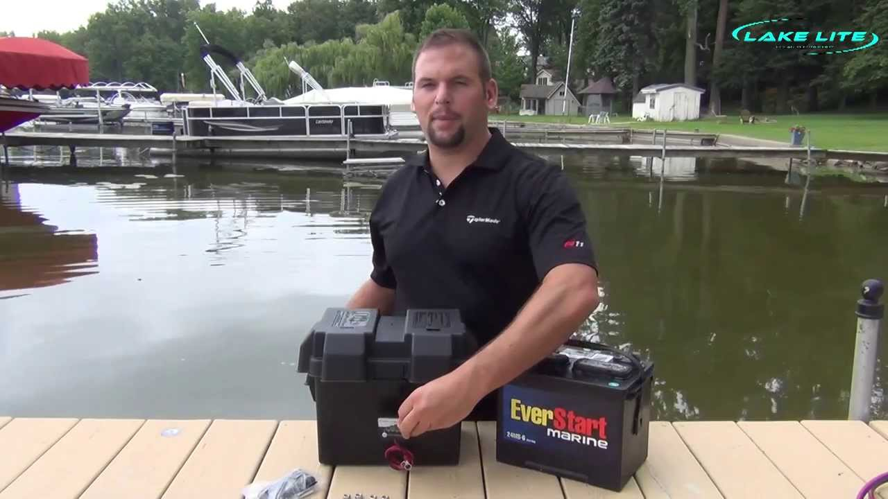Lake Lite Battery Status Indicator Installation Video Youtube 36 Volt Fork Lift Charger Wiring Diagram