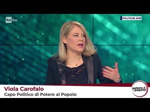 """Viola Carofalo a """"Conferenza stampa"""" di Rai 2"""