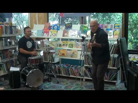 SECRET KNOCK 2 live at Waiheke Library for NZ Music Month