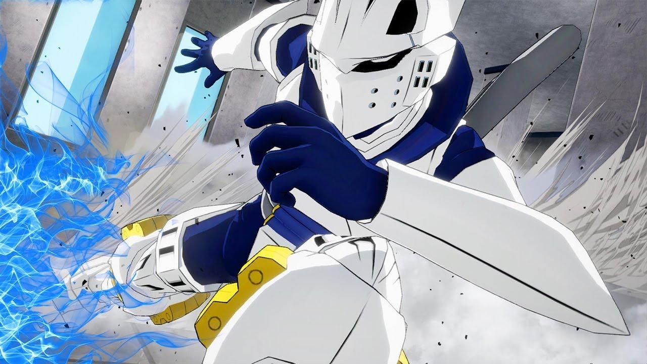 My Hero Academia One S Justice Iida Tenya Combos Poses Ultimate Attacks Gameplay