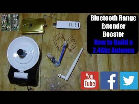 Bluetooth Range Extender v2: How To Build A 2.4 Ghz Antenna