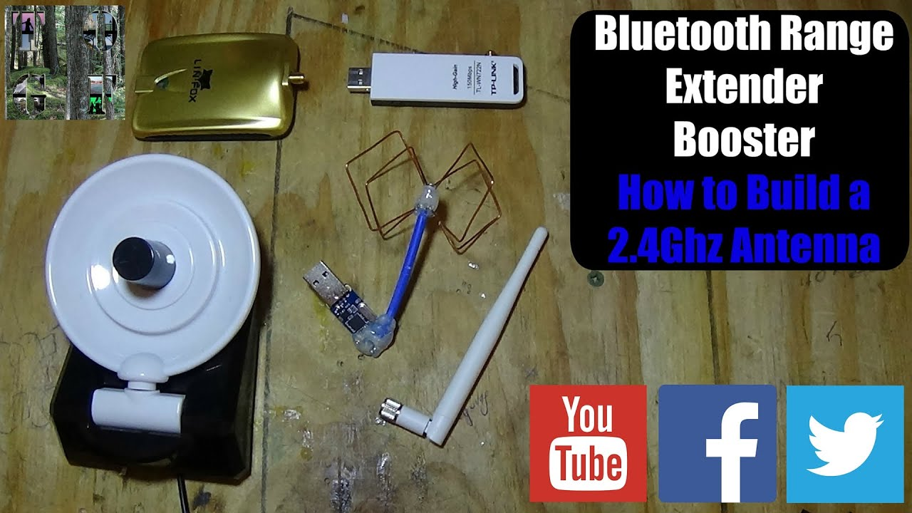 Bluetooth Range Extender V2 How To Build A 2 4 Ghz Antenna Youtube