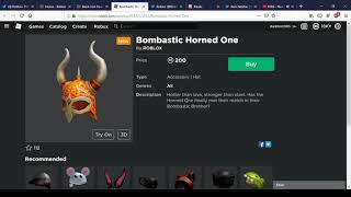 New Black Iron Pauldrons And Bombastic Horned One | Roblox