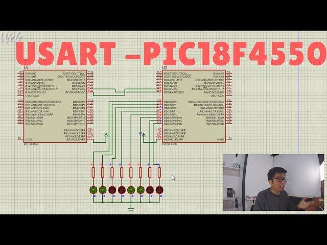 USART PIC18F4550 - Como configurar el USART y crear un librería - Wels Theory