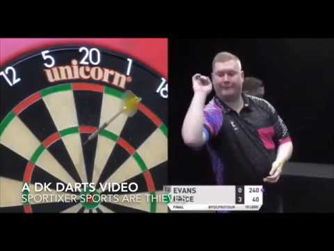 Gerwyn Price vs Ricky Evans Players Championship 6 Final + Interview