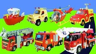 Feuerwehrmann Sam Spielzeug Unboxing Deutsch | Spielzeugautos Deutsch | Spielzeuge für Kinder