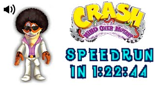 Crash Mind Over Mutant DS Speedrun in 1:22:44 (Live Commentary)