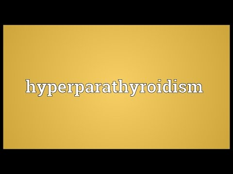 Header of hyperparathyroidism
