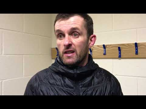 Nathan Jones on the defeat to Colchester United