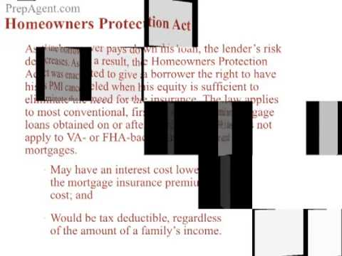 Home Owners Protection Act