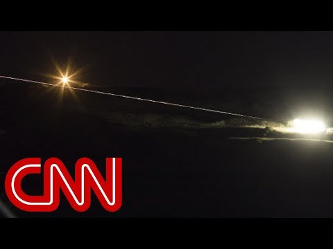 Israel: Iranian Forces Fired Rockets At Golan Heights