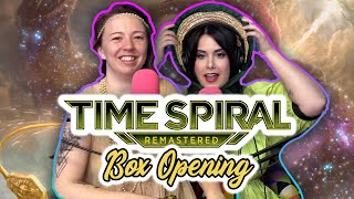 Time Spiral Remastered BOX OPENING! Featuring Time Travel??? | Magic the Gathering (MTG) Unboxing