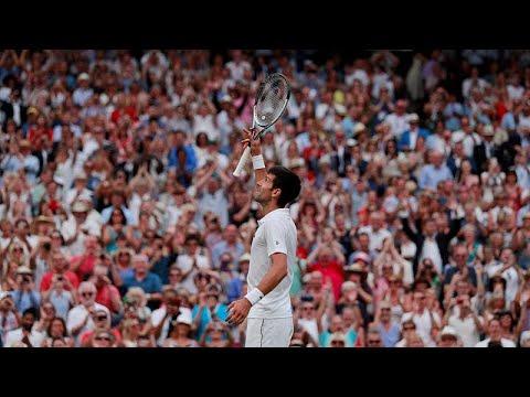 Novak Djokovic regressa à final de Wimbledon