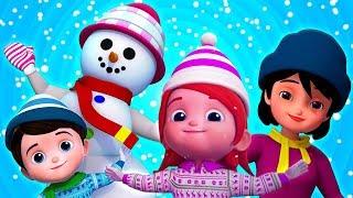 bonhomme de neige de noël   chansons pour enfants   Christmas Snowman   Kids Tv Française