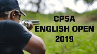 CPSA English Open English Sporting - West Midlands Shooting Ground 2019