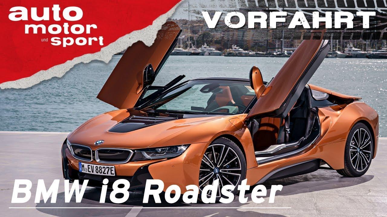 BMW i8 Roadster (2018): Der Sportwagen der Zukunft? - Vorfahrt I ...