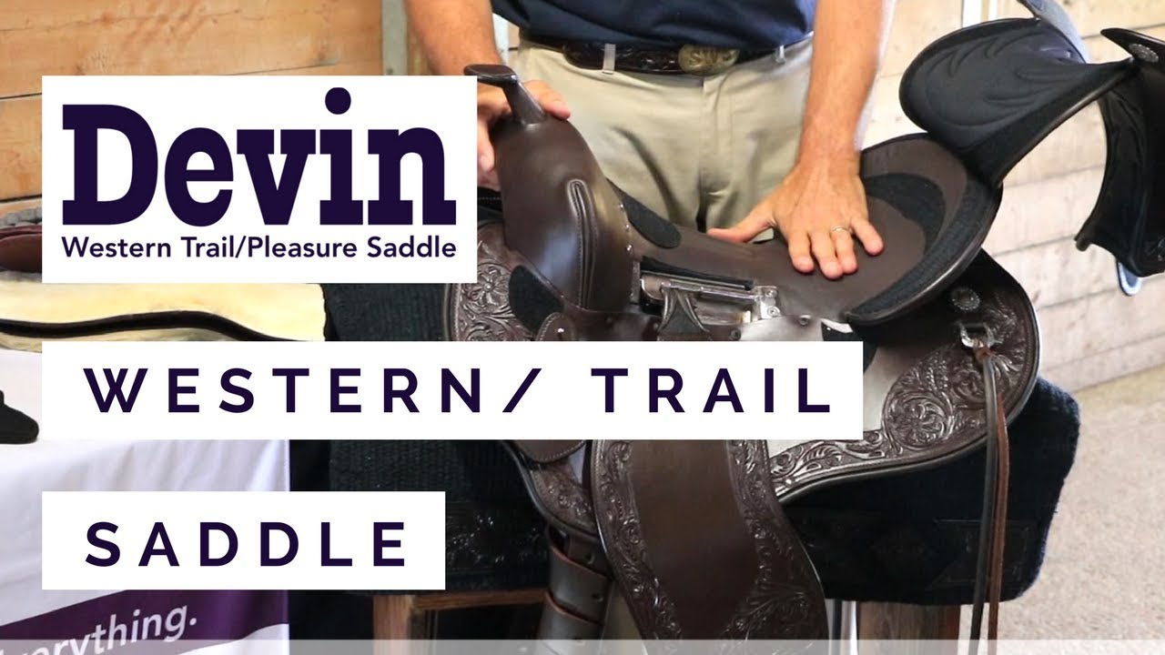 The Devin Western Trail Saddle by Schleese Saddlery