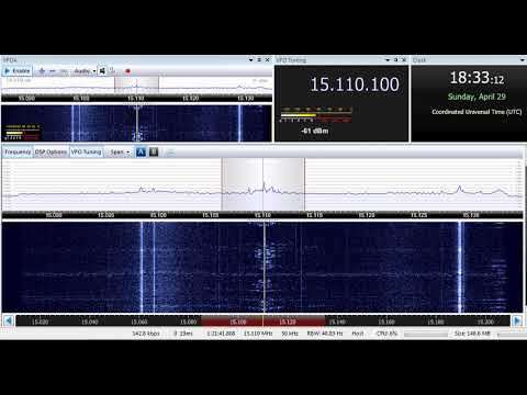 29 04 2018 SPL relay Radio Nigeria Hausa Sce in Hausa to WeAf 1832 on 15110 Secretbrod