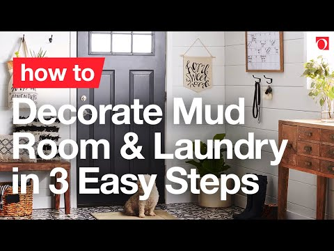 3 Steps to a Stylish & Functional Mudroom – Overstock.com