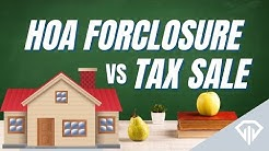 Real Estate Investor Explains HOA Foreclosure vs Tax Sale Auction