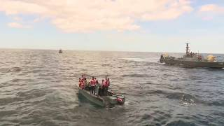 Navy Rescues Jumbo at Sea