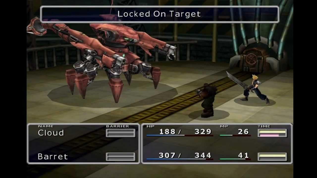 Final Fantasy 7 PC Guard ScorpionReno Fight World Map Retex HD YouTube