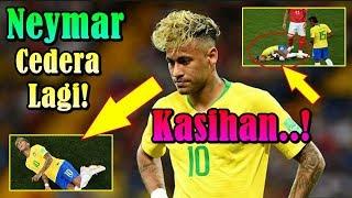 KABAR BURUK!!! Tampil Perdana Di Piala Dunia 2018, Neymar Sudah Cedera Lagi