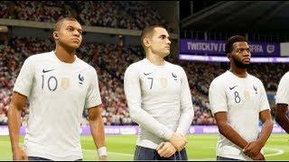 France vs Pays de Galles FIFA 19 Difficulté Ultime Gameplay PC