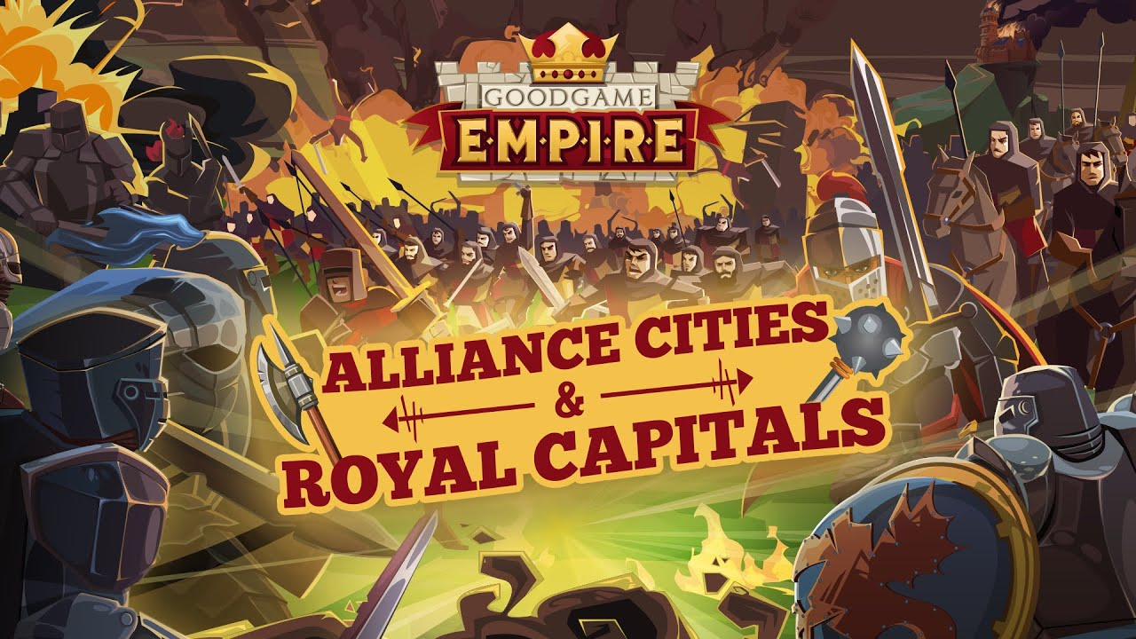 Goodgame Empire - Alliance Cities Preview - YouTube