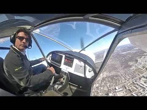 Flight over Columbia: 360 degrees