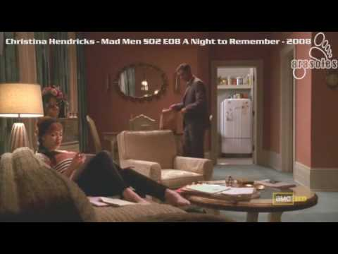 Christina Hendricks - Mad Men S02 E08 - 2008 - feet soles ...