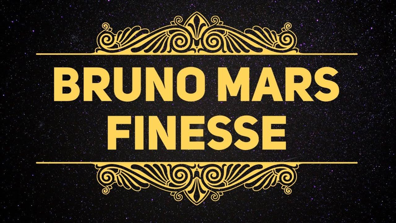 Bruno Mars Finesse
