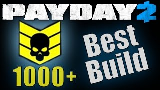 Best High Crime Spree Build (Payday 2)