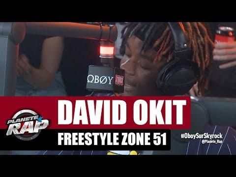 David Okit - Freestyle Zone 51 #PlanèteRap