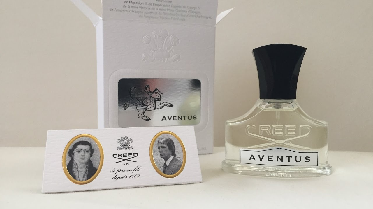 bf6252856ce6 Creed Aventus unboxing 30 ml - YouTube