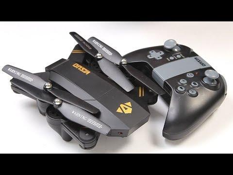 Visuo Drone XS809W TX & APP control, WiFi FPV Folding Quad-copter