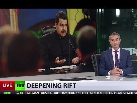 US sanctions Maduro, avoids targeting Venezuelan oil sector