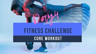 Фитнес МАРАФОН День 4 Тренировка КОРА Fitness CHALLENGE Day 4 CORE workout