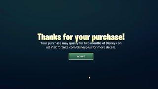 Redeeming 2 Months Of Disney Thorugh Fortnite Guide Fortnite X Disney Plus Youtube