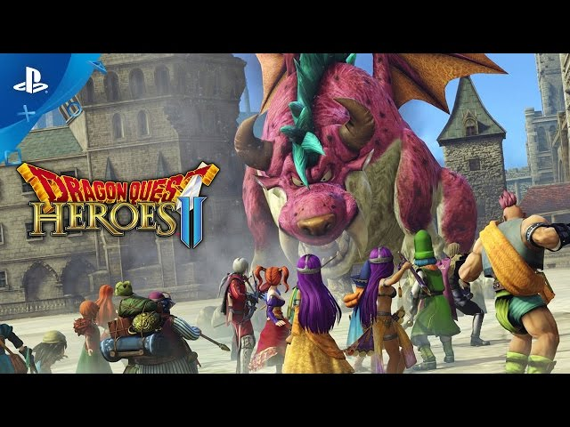 Dragon Quest Heroes II - Launch Trailer | PS4